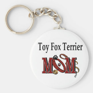 Toy Fox Terrier MOM Gifts Key Chain