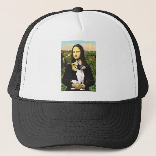 Toy Fox Terrier - Mona Lisa Trucker Hat