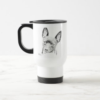 Toy Fox Terrier 15 Oz Stainless Steel Travel Mug
