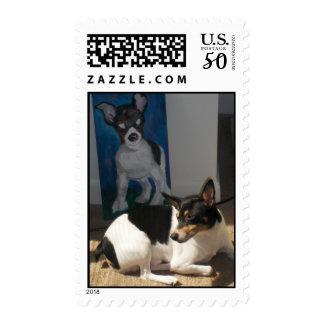 Toy Fox Terrier Postage