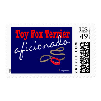 Toy Fox Terrier Postage Stamp