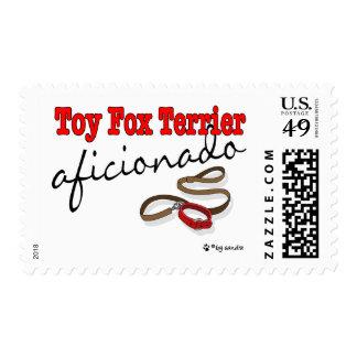 Toy Fox Terrier Stamp