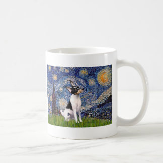 Toy Fox Terrier - Starry Night Mugs