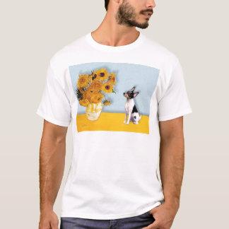 Toy Fox Terrier - Sunflowers T-Shirt