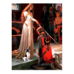 Toy Fox Terrier - The Accolade Postcard