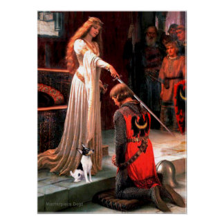 Toy Fox Terrier - The Accolade Poster