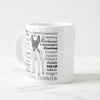 Toy Fox Terrier Traits Jumbo Mug