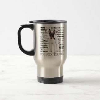 Toy Fox Terrier Traits Travel Mug