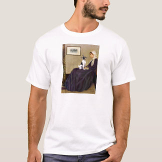 Toy Fox Terrier - Whistler's Mother T-Shirt