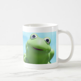 Toy Frog Close-Up Classic White Coffee Mug