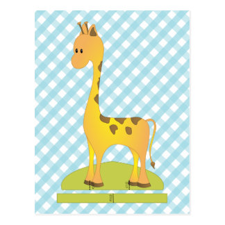 Toy Giraffee Postcard