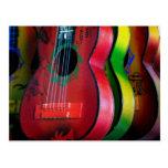 Toy Guitars Mexico Postcard