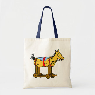 Toy Horse Canvas Tote Bag