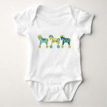 Toy Horses Baby Bodysuit