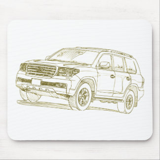Toy Land Cruiser 200 series 2008 Mouse Pad