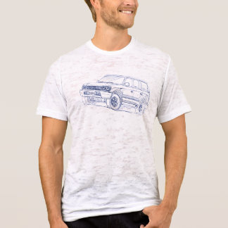 Toy Land Cruiser 90 series Prado 1996 T-Shirt