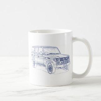 Toy LandCruiser 70 Prado 1990 Coffee Mug