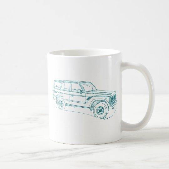 Toy LandCruiser FJ60 1980-90 Coffee Mug