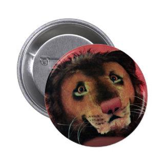 toy lion head button