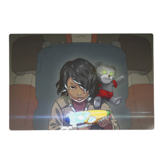 Toy Maker Laminated Placemat