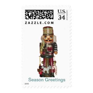 Toy Maker Nutcracker Postage Stamps