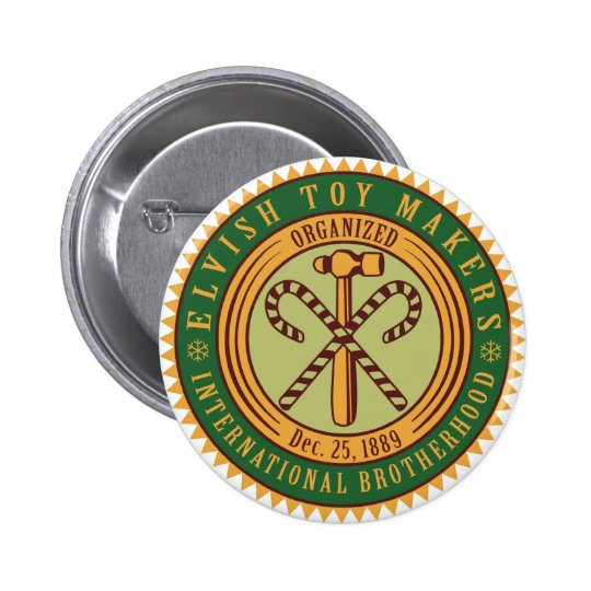 Toy Makers Union Pinback Button