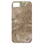 Toy man pushed into mud. iPhone SE/5/5s case