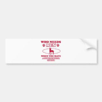 Toy Manchester Terrier dog breed designs Bumper Sticker