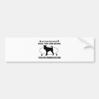 toy manchester terrier mommy designs bumper sticker