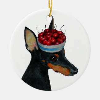 Toy Manchester Terrier Ornament