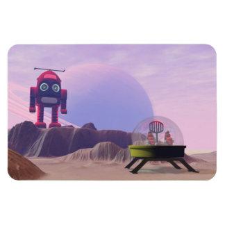 Toy Moon Walker Scene Premium Flexi Magnet