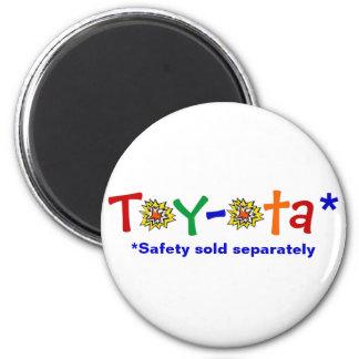 Toy-ota 2 Inch Round Magnet