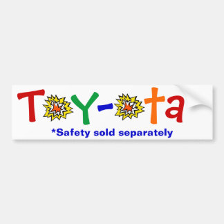 Toy-ota Bumper Sticker