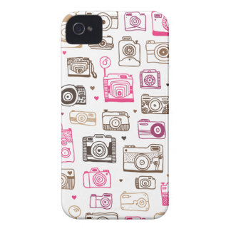 Toy photo lomo camera pattern Case-Mate iPhone 4 cases