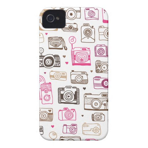 Toy photo lomo camera pattern iPhone 4 case