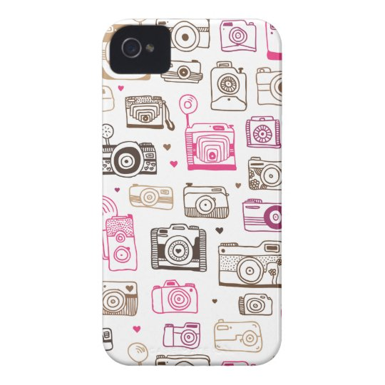 Toy photo lomo camera pattern iPhone 4 cover