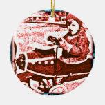 Toy Plane Christmas Ornaments