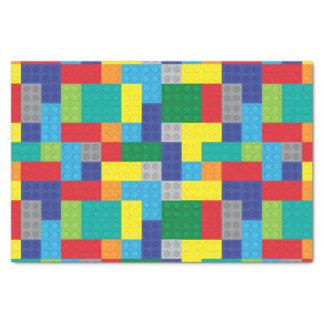 """Toy Plastic Bricks Building Blocks 10"""" X 15"""" Tissue Paper"""