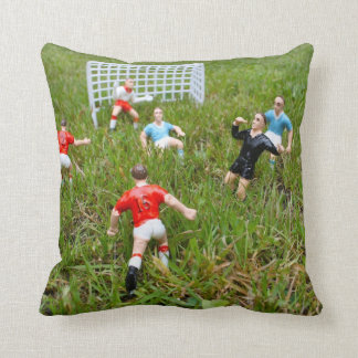 Toy Plastic Football Players American Mojo Pillow