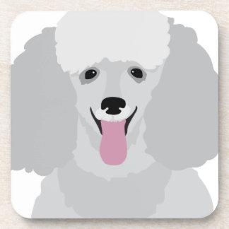 Toy Poodle Beverage Coaster
