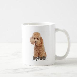 toy poodle breeds coffee mug