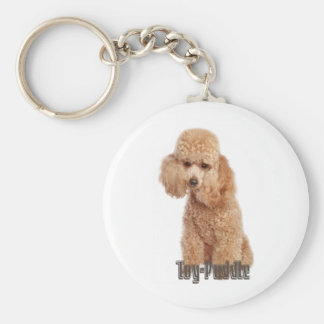 toy poodle breeds keychain