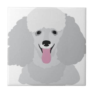 Toy Poodle Ceramic Tile