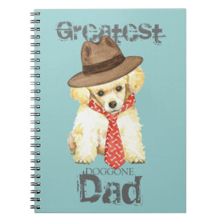 Toy Poodle Dad Notebook