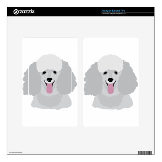 Toy Poodle Decals For Kindle Fire