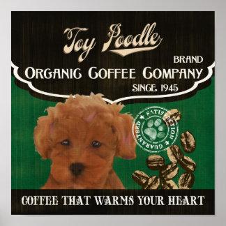 Toy Poodle Dog Art Poster