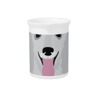 Toy Poodle Drink Pitcher