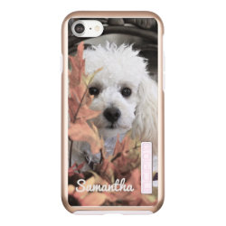 Incipio DualPro Shine iPhone 7 Case with Poodle Phone Cases design