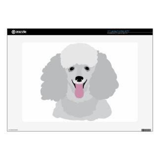 Toy Poodle Laptop Skin