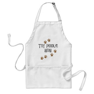 Toy Poodle Mom Adult Apron